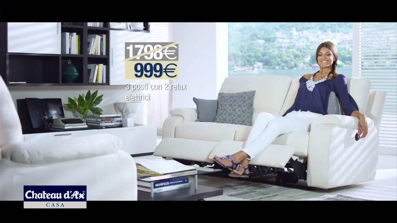 cristina chiabotto spot saldi chateau d 39 ax luglio 2012 youtube. Black Bedroom Furniture Sets. Home Design Ideas
