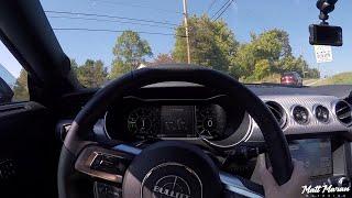 POV Drive in my 2019 Mustang Bullitt
