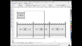 Графический конструктор для ковки на базе Corel Draw. Часть 6.(Основное назначение - достаточно быстрое и максимально облегченное создание профессиональных эскизов..., 2014-11-27T19:49:16.000Z)