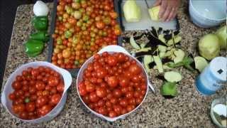 Canning Cherry Tomato Pasta Sauce