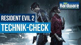 Resident Evil 2 Remake   Technik   Vega   Settings Vergleich