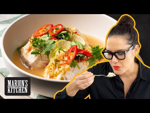 Make this Thai steamed fish WITHOUT a steamer | Thai Steamed Fish with Lime & Garlic