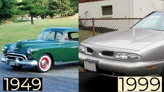 Oldsmobile Eighty-Eight Through The Years