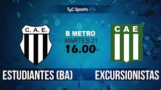 Club Atlético Est. vs Excursionistas full match