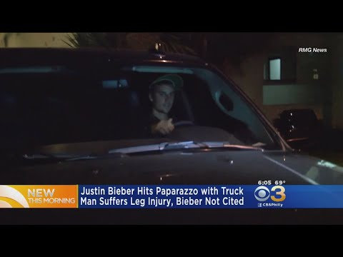 Justin Bieber Hits Paparazzo With Car, Police Say