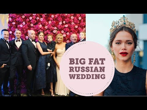 My Mother's BIG FAT Russian Wedding | Valeria Lipovetsky Vlog