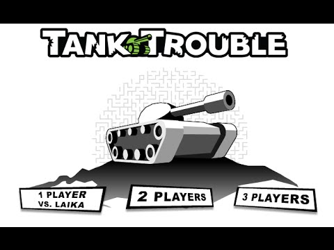 Tank trouble unblocked two amateur players youtube