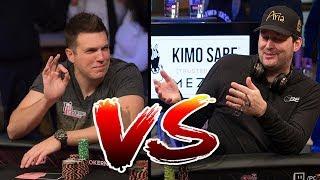 Hellmuth HUMILIATES YouTube Kingpin Doug Polk   KOTH Highlights Part 1