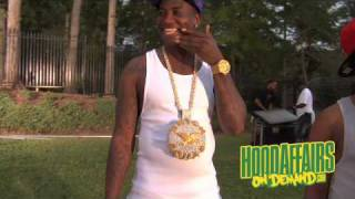 Gucci Mane - Wasted (remix) behind the scenes [HD]