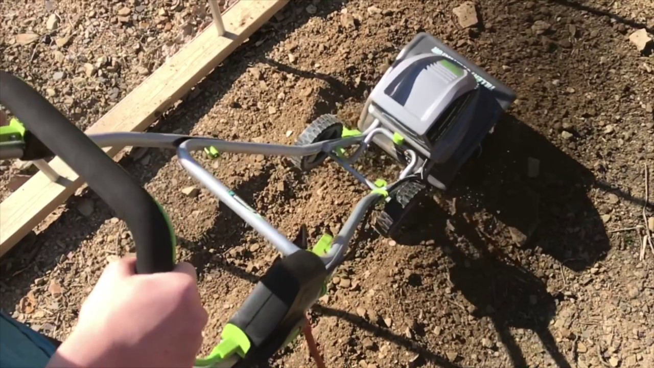 Earthwise 8 5 Amp Tiller Cultivator Tc78510 Unboxing Assembly And Review Youtube
