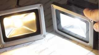 Прожектор светодиодный 10 ватт(Светодиодный прожектор потребляемой мощностью 10 ватт предназначен для установки снаружи или внутри помещ..., 2013-03-31T08:43:11.000Z)