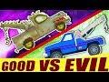 Kids TV Channel   Tow Truck Battles   Good VS Evil   Transport Videos For Kids   Ep#04