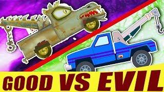 Kids TV Channel | Tow Truck Battles | Good VS Evil | Transport Videos For Kids | Ep#04