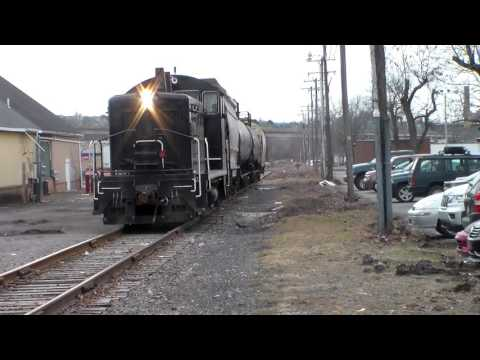 Luzerne and Susquehanna Rail Way in Wilkes-Barre PA