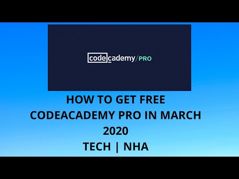Free Offer, How to Get CodeAcademy Pro Account for Free
