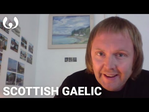 WIKITONGUES: Àdhamh speaking Scottish Gaelic