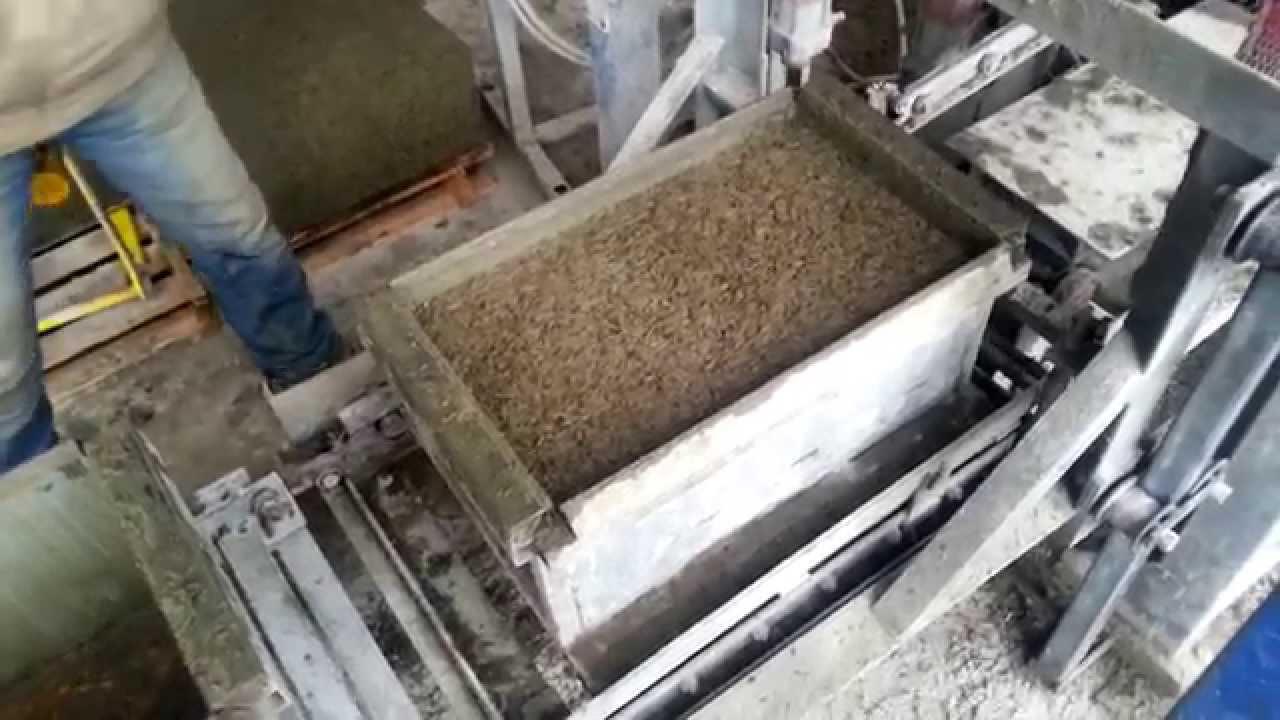Опилкобетон своими руками видео 4