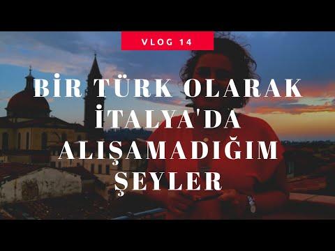 İtalya Vlog 14 I Bir Türk Olarak İtalya'da Alışamadığım Şeyler Bölüm 1I İtal