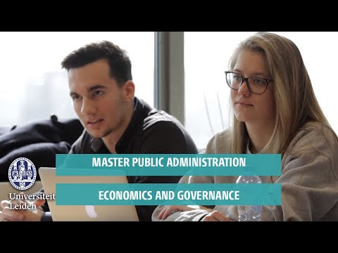 Master Public Administration: Economics and Governance