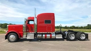 2018 Peterbilt 389 Autumn Sunburst Orange 565hp 2050 TQ 18 Speed Platinum