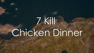 Xbox PUBG Highlight | 7 Kill Chicken Dinner