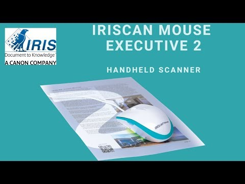 pilote iriscan mouse executive 2