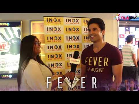 Rajiv Khandelwal exclusive Interview for his film Fever |  Filmibeat