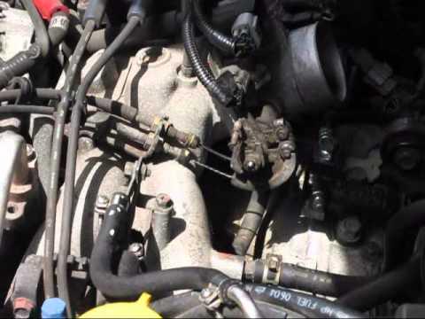 2001 Subaru Knock Sensor Replacement Youtube
