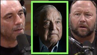 Alex Jones Explains His Problem with George Soros | Joe Rogan thumbnail