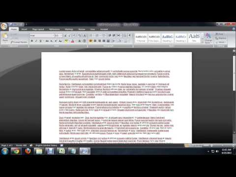 How to Reverse Text in Microsoft Word : Microsoft Word Basics