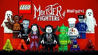 LEGO® MONSTER FIGHTERS Official Minifigures Lord Vampyre, Zombie, Swamp Creature