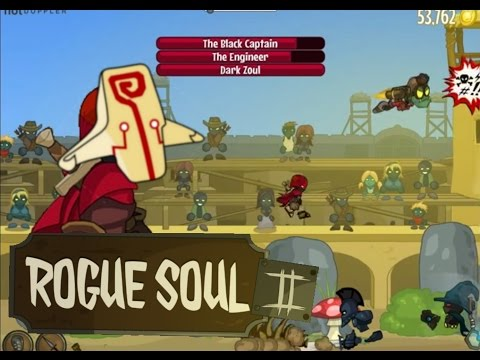 Rogue Soul 2 100% Playthrough - All challenges, 50k gold 4k distance endurance, All boss arenas