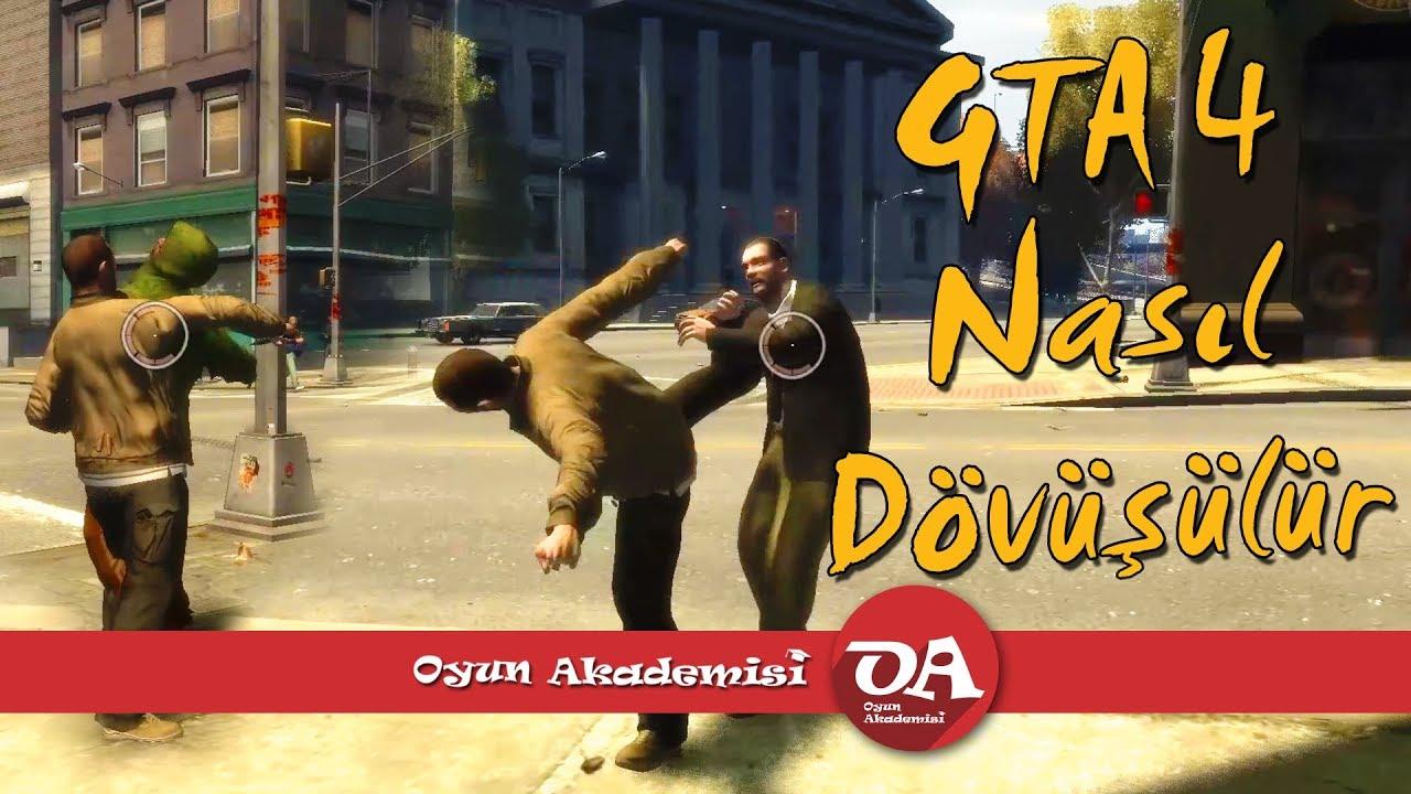 GTA 4 Nasıl Dövüşülür