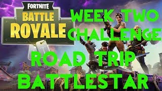 Fortnite Battle Royale | Season 5 Week 2 Challenge | Road Trip Secret Battle Star Location Guide