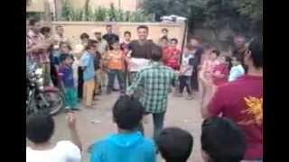 قرية الشماشرجي سمسطا بني سويف تحتفل امام امام لجنةالانتخابات 2014