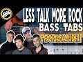 watch he video of Propagandhi - Less Talk, More Rock | Bass Cover With Tabs in the Video