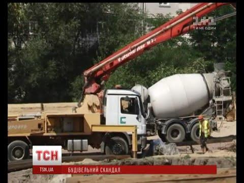 Жителів Житомира обурило будівництво багатоповерхівки замість зеленої зони на березі Тетерев