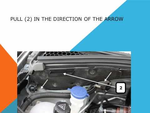 How to replace the air cabin filter   dust pollen filter on a Citroen C3 II