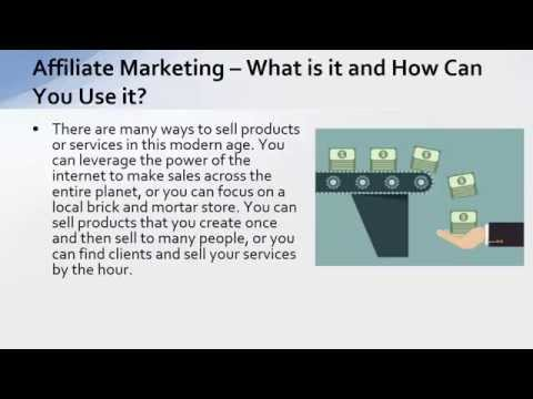 EP11 – Affiliate Marketing – What is it and How Can You Use it?