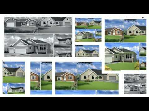 100 Contractor House Plans Construction Blueprints - Spec Ho