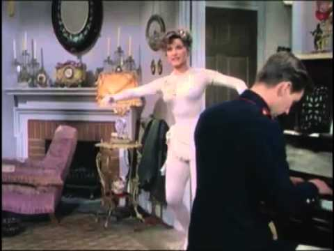 Sexy Debra Paget Sings Dances For Clifton Webb