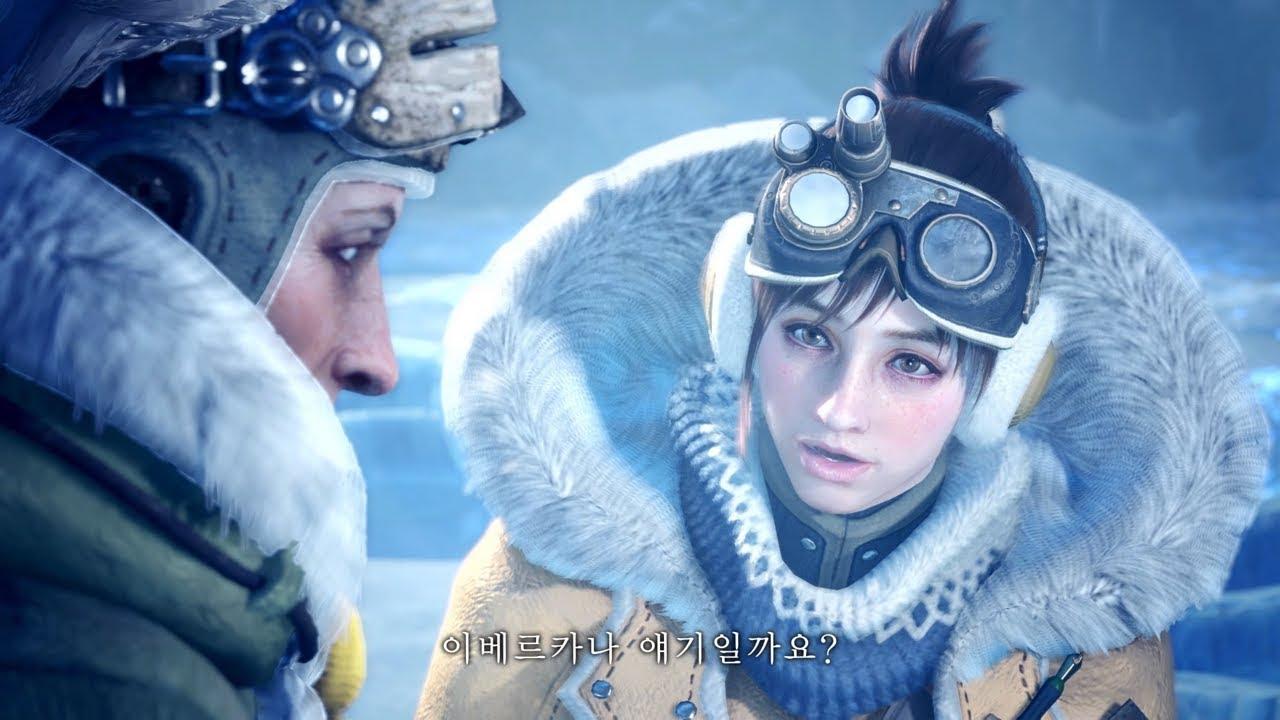 """Monster Hunter World: Iceborne"" 프로모션 영상 4 시청하기"