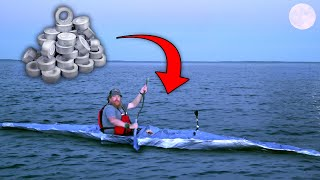 Duct Tape Kayak Built to Escape the Ocean Island ENTIRE BUILD - Duct Tape Survival Challenge