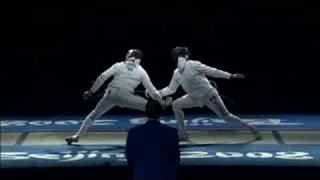 France vs Italy - Fencing - Men's Individual Epee - Beijing 2008 Summer Olympic Games