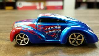 CAPTAIN AMERICA Maisto Phender review by Classic Game Room