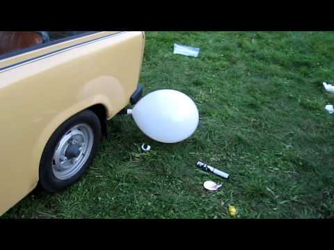 ballon aufpumpen car funny funnydog tv. Black Bedroom Furniture Sets. Home Design Ideas