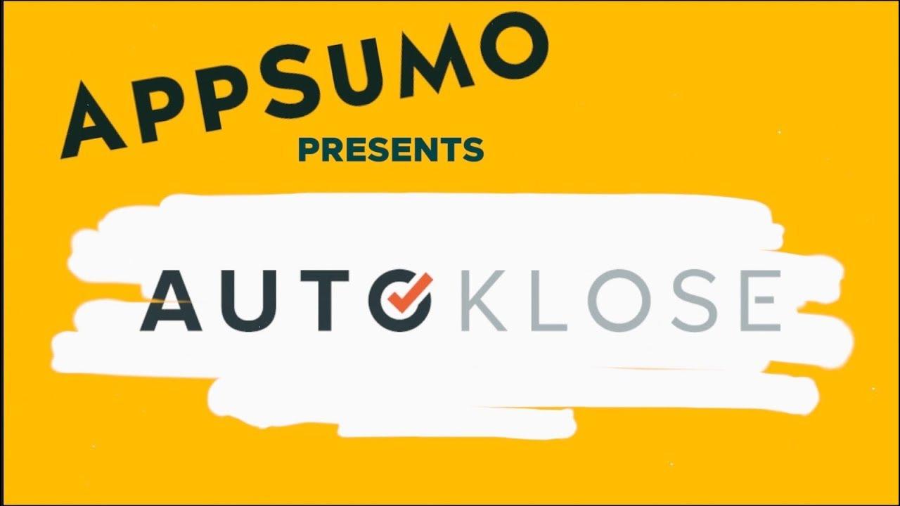 Autoklose - Sales Automation CRM Software Review on AppSumo