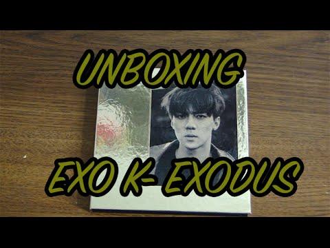 [UNBOXING] EXO K- EXODUS (Sehun Korean Version)