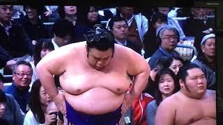 大相撲 #nhk_oozumou   #玉鷲 #貴景勝.