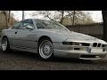 BMW 850i V12 Suade Headliner - Stereo System & NSX Alarm System